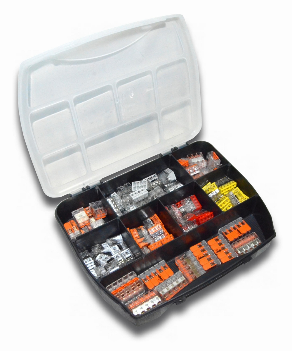 Hervorragend WAGO Klemme Sortimentskasten / Boxen - Riesen Auswahl - Serie 221  KI37